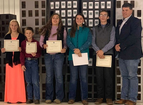 2019 Livestock Sweepstakes participants