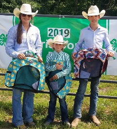 Hi-Point Ranch Winners: Heather Patry, Ainsley Tiffany, Ransom Tiffany